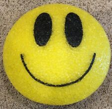 Smiley Face shape soft plastic Light. Excellent Condition. Hang Up Night Light