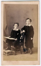 CDV Naples Portrait of a little artists proficient Photo Arena 1860c S680