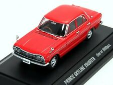 Ebro 1/43 Prince Skyline 2000Gtb Red Oldies Limited Edition