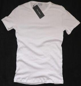 Mens DOLCE & GABBANA ribbed crew neck t-shirt/top (underwear range), size EU XXL