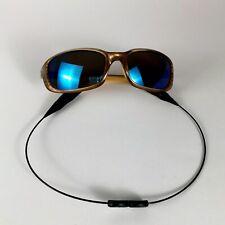 Preowned Costa Del Mar Brine Oval Copper Blue Mirrored Polarized-580p PB