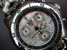 TAG Heuer Stainless Steel Strap Adult Round Wristwatches