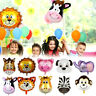 Animal Cartoon Foil Balloons Safari Jungle Animal Party Baby Shower Decoration `