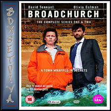 BROADCHURCH - COMPELTE SERIES 1 & 2 **BRAND NEW DVD BOXSET***