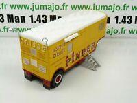 PIN7B 1/43 IXO CIRQUE PINDER : remorque CAISSE ORTF entrée cirque