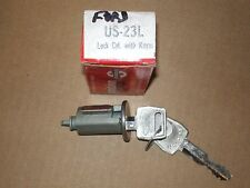 NORS LATE 60s FORD LINCOLN MERCURY THUNDERBIRD IGNITION LOCK CYLINDER W/ KEYS
