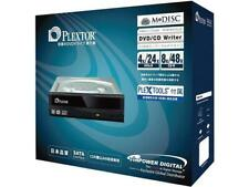 PLEXTOR 24x SATA Dvd/rw Dual Layer Burner Drive Writer - Black Optical Drives PX