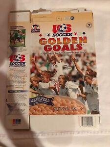 Quaker US Women's Soccer Golden Goals 1999 World Champions Empty  Cereal Box