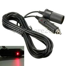 5m 12V Car Cigarette Lighter Extension Cable Lead Charger Power Socket Adapter