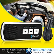 HANDS FREE BLUETOOTH HEADSET CAR KIT HANDSFREE FOR IPHONE SAMSUNG HTC NOKIA