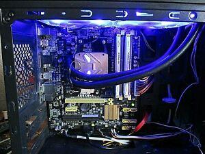 ASUS A88XM-A based PC with AMD A8-7670K QUAD 3.6GHz CPU in CIT Legend case