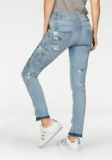 Please Jeans Donna Pantaloni Stretch used style tg S NUOVO!