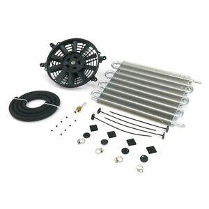 Mishi Moto Style Trans Cooler Kit MMOC-F Heavy Duty Universal (w/ Fan Kit) fan