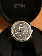 ORIS TT1 CHRONOGRAPH 01 674 7659 4163 07 4 25 GREY DIAL ON RUBBER STRAP MINT