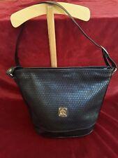 Sac à bandoulière simili noir Upper Class Black shoulder bag imitation leather