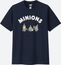 Uniqlo Mens MINIONS SHORT SLEEVE GRAPHIC T-SHIRT Size XS Brand New