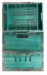 Bale Arm Crate 400x300x185 Plastic Containers  (Pack of 14)