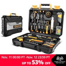 Deko 100 Pcs Tool Set Auto Repair Mixed Tool Socket Wrench Combination Package