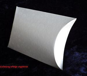 1x Pillowbox Kissenschachtel Geschenkverpackung Geldgeschenk Schmuck 8,5 cm A4