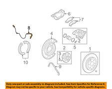 GM OEM ABS Anti-lock Brakes-Rear Speed Sensor 22951116