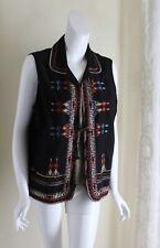GRAFF Um Company -Sz XL Lux Southwest Embroidered Moleskin Vest Jacket