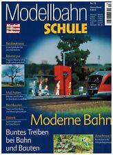 Modelleisenbahner Modellbahn Schule Nr. 13, Moderne Bahn