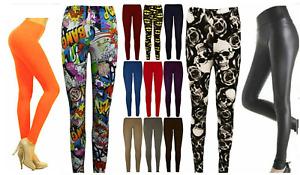 WOMEN Halloween Printed LEGGINGS JEGGINGS STRETCHY PANT SKINNY PLUS SIZE BOTTOM