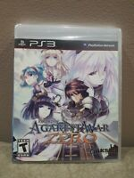 Record of Agarest War Zero (Playstation 3, 2011) Brand New Factory Sealed USA