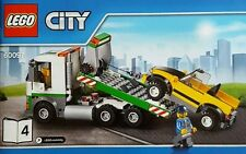 LEGO City Flatbed Tow Truck & Car With Minifigure From Set 60097