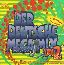DER DEUTSCHE MEGAMIX Vol.2 - 2 CD Neu Wendler Zander G. G. Anderson Rafael