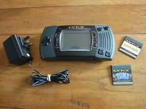 Atari Lynx with 2 games, Excellent working Condition has a BennVenn LCD Screen