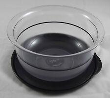 Tupperware C 22 kleine Tafelperle Schüssel 1,1 l Klar / Schwarz Neu OVP