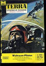 Terra--Utopische Romane -- Science Fiction -- Band 502 -- Romanheft -- Moewig -