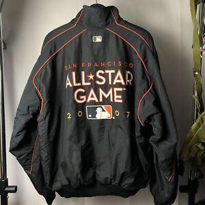 Vintage 2007 San Francisco Giants All Star Game MLB Jacket Baseball Rare