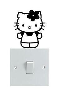Hello kitty Light Switch Sticker x 3