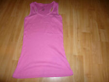 LOVELY GIRLS AGE 11-12 PINK VEST TOP