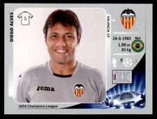 Panini Liga de Campeones 2012-2013 DIEGO ALVES VALENCIA CF no. 391