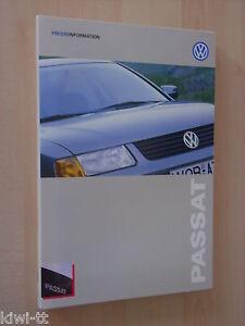 Volkswagen Der neue Passat (B5) Pressemappe / Press-kit, 8.1996