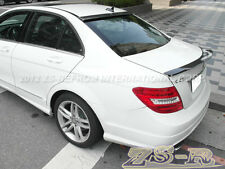 V Style Trunk Spoiler OE Roof Lip Carbon Fiber W204 C250 C300 C350 C63AMG Sedan
