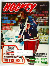 (#745) Phil Esposito on cover of Hockey Pictorial 1976(#745)