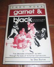 They Wore Garnet & Black Univ of South Carolina Football Don Barton
