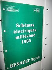 Schémas électriques ESPACE 1985 NT8003
