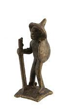 Statuette,figurine africaine en bronze, ancienne-Décoration-Art Africain-AF 662