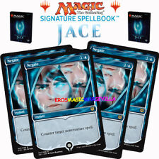 MTG 4 X Negate - SIGNATURE SPELLBOOK JACE BELEREN - ENGLISH Limited Edition