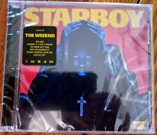 The Weeknd -The Weekend -Starboy CD (Explicit Version) - NEW and SEALED! Cracked