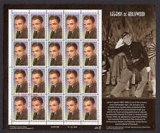 James Cagney LEGENDS OF HOLLYWOOD Stamps 1998 20 x .33 = $6.60