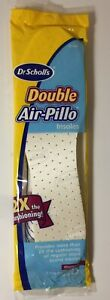 NEW Dr. Scholls Double Air-Pillo Insoles 1 Pair Women Size 5-10