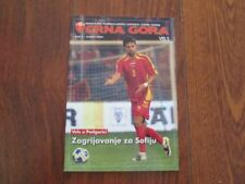 Football Friendly International Wales Fixture Programmes
