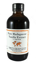 Madagascar Bourbon Vanilla Extract, 100% Pure - 4 oz - Nomad Spice Co.