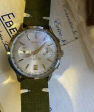 orologio eberhard extra fort automatico acciaio crono ref. 31951